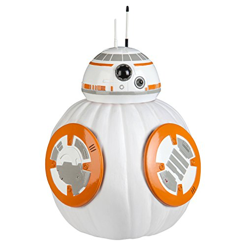 Star Wars BB8 Halloween Pumpkin Decorating (Quick And Simple Halloween Costumes For Kids)