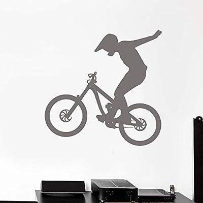 Zaosan Motocicleta Vinilo Pared calcomanía Bicicleta Bicicleta ...