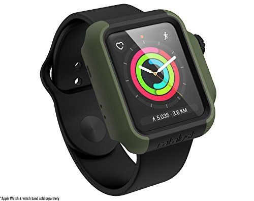 Dial Army Green - Catalyst for 42mm Apple Watch Series 3 & Series 2 – Drop Proof Shock Proof Impact Protection Apple Watch case [rugged iWatch protective case], Army Green