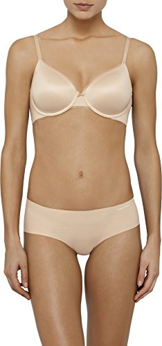 Calvin Klein Women's Everyday Lightly Lined Full Coverage Bra, Bare, -