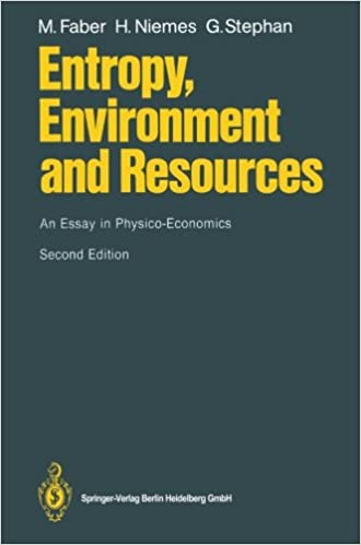 'Entropy, Environment and Resources': An Essay In Physico-Economics