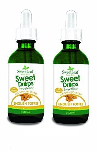 Sweet Leaf Sweet Drops Sweetener English Toffee - 2 fl oz (Set of 2)