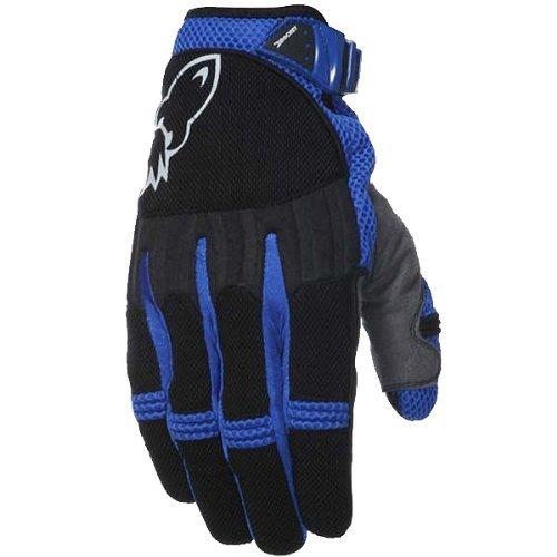 Joe Rocket Big Bang Men's Textile On-Road Racing Motorcycle Gloves - Blue/Black / Large