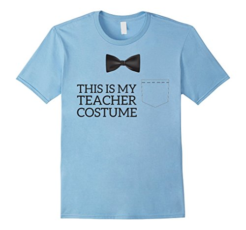 Mens This Is My Teacher Costume Funny Halloween T-Shirt Large Baby (Baby Parent Halloween Costume Ideas)