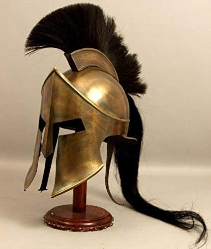 Piru Medieval Spartan Helmet King Leonidas 300 Movie Helmet Replica - Role Play Helm