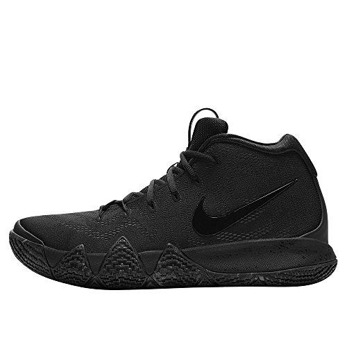 NIKE Men's Kyrie 4 Basketball Shoes (14, Black/Black) ()