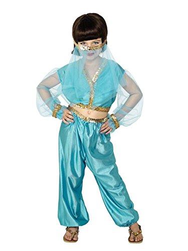 [Star55 Big Boys' Belly r Arabian Princes Jasmine Genie Aladdin Fancy Dres Costume Medium 7-9 Years] (Aladdin Costume For Boy)