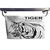 """warmfamily Absorbent Towel Tigers Stare Victim Victor Towel W 8"""" x L 23.5"""""""