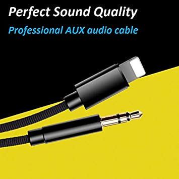 Cable de audio auxiliar de 3.5 mm para automóvil, Adaptador ...