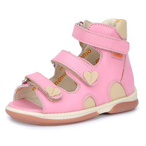 030d1b505d9df Memo Shoes Atena Corrective Orthopedic AFO Leather Sandal