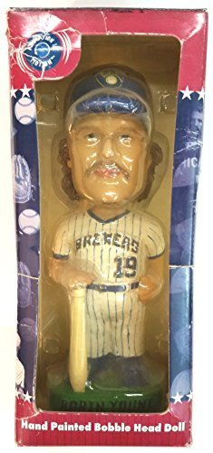 Robin Yount Milwaukee Brewer Bobble Head Cooperstown Collection 2001 -
