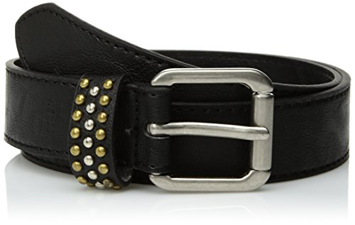 Relic Womens Multi Layered Stud Keeper Belt, Black, Small Multi Stud Belt