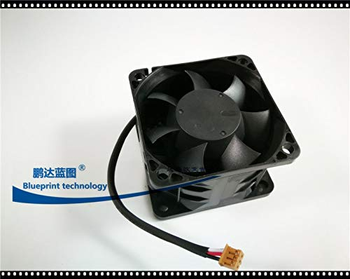 4 a Double Ball Bearing Large air Cooling Fan REFIT New AVC DB06038B12H 6038 6 cm 12 v2