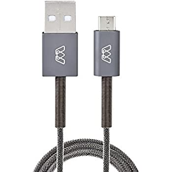 Amazon Com Mos Spring Micro Usb Cable Aluminum Heads