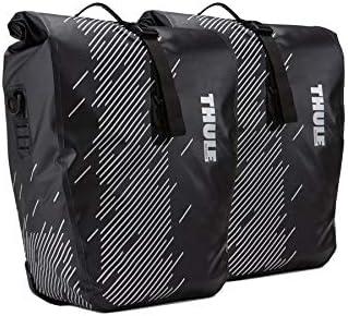 Thule Shield Pannier Pack n Pedal 24L - Bolsa portaequipajes (2 Unidades), Color Negro: Amazon.es: Deportes y aire libre