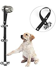 Luckyiren Upgraded Puppy Bells Dog Doorbells for Door Knob/Potty Training/Go Outside-Dog Bells for Puppies Dogs Doggy Doggie Pooch Pet Cat for Dog Lovers-Premium Quality-3 Snaps