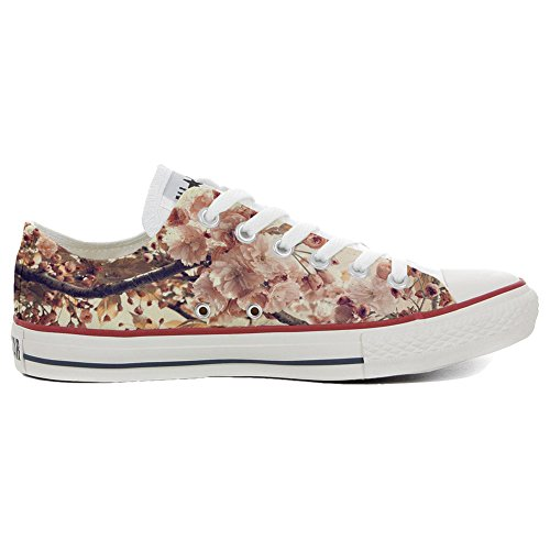 Converse All Star Customized ALL STAR - zapatos personalizados (Producto Artesano) Autumn Texture
