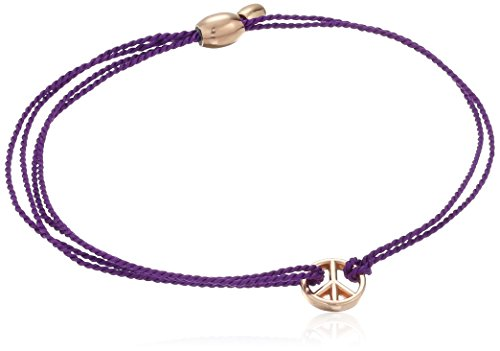 Alex and Ani Kindred Cord Peace Purple Bracelet