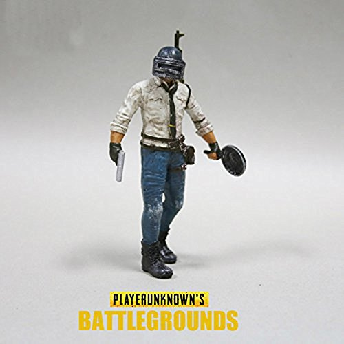 HANDMADE JEWELLERY - PUBG Action Figure Model SET Toy Gifts for boys Static statue (PUBG toy set action figure)