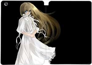 ipad mini 1/2/3 case , blonde girl in a white dress- Premium PU Leather Smart Cover Case for ipad mini 1/2/3-SSSF2792877