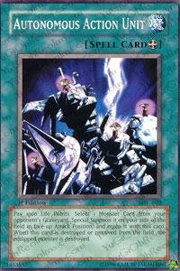 Autonomous Action Unit - Yu-Gi-Oh! - Autonomous Action Unit (MFC-032) - Magicians Force - Unlimited Edition - Common