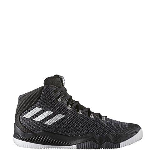Adidas Crazy Hustle Men's Basketball Shoes (8.5, Black)