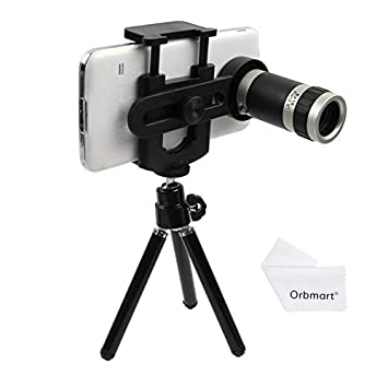 Universal 8x Optical Zoom Telescope Camera Lens with Tripod for Mobile  Phone Iphone 6 Plus 5 5s 5c 4 Samsung I9300 S5 S4 S3 Galaxy Note 2 3