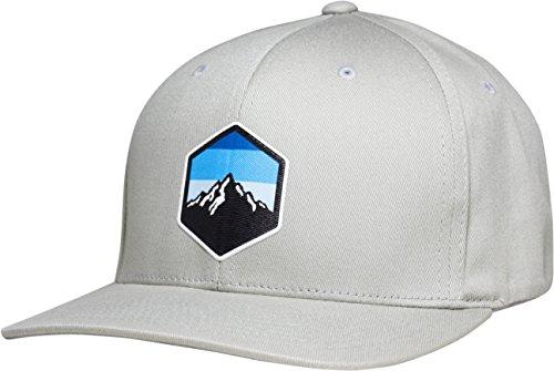 Lindo Flexfit Pro Style Hat - Mountain Sky (Silver-l/XL) (Mountain Man Style Hat)