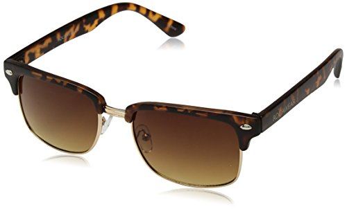 Rocawear Men's R1425 MTS Rectangular Sunglasses, Matte Tortoise, 54 (Rocawear Sunwear Metal)