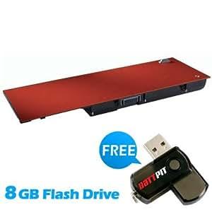 Battpit Recambio de Bateria para Ordenador Portátil Dell J012F (7600mah / 85wh) Con memoria USB de 8GB GRATUITA