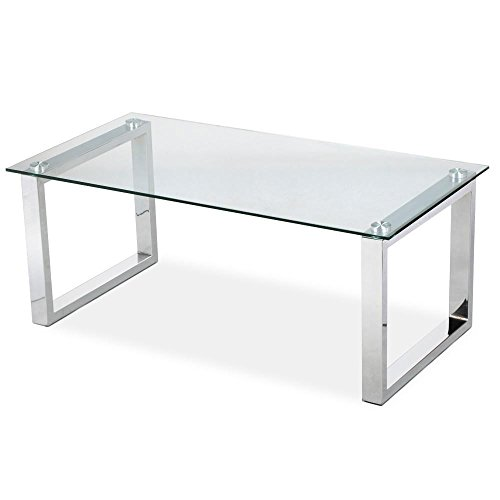 home, kitchen, furniture, living room furniture, tables,  coffee tables 10 discount Topeakmart Modern Design Cocktail Coffee Table Tempered Glass in USA