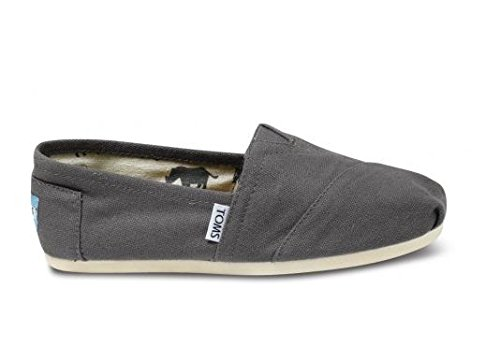TOMS Women's Classic Canvas Slip-On,Ash,7 M -