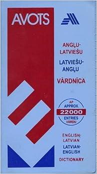 English-Latvian-English Dictionary