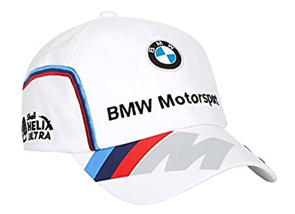25803357090 Image Unavailable. Image not available for. Colour  BMW Motorsports M-Power  Men s White Team Hat with Puma ...