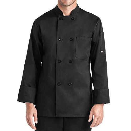 On The Line Mens Long Sleeve Chef Coat  ()