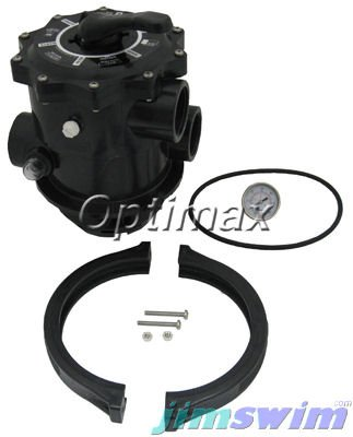 Multiport Valve, Top Mount, Clamp Style, 2