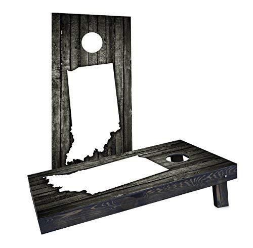 激安特価 Custom Cornhole Boards Cornhole Incorporated Boards CCB807-2x4-AW-RH Wood Cornhole Slat Indiana Theme Cornhole Boards [並行輸入品] B07HLFN8QQ, やまぐち開盛堂:716593ae --- arianechie.dominiotemporario.com