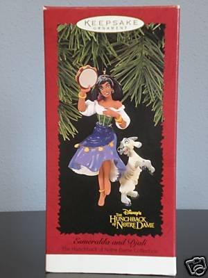 Esmeralda And Djali The Hunchback Of Notre Dame Collection
