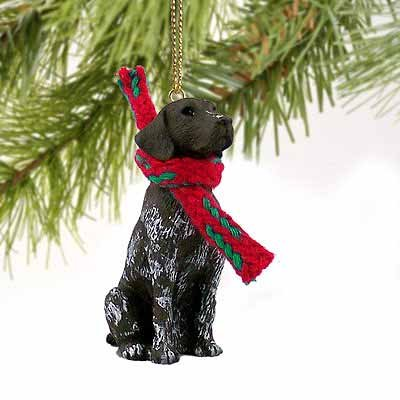 German Shorthair Pointer Miniature Dog Ornament (Pointer Shorthaired Ornaments)