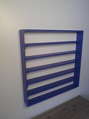 VersaRacks - Cars, Thomas the Train, Monster Trucks, Legos, Model Wall Display Case Shelf - Standard ()