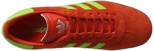 adidas Herren Gazelle Sneaker Rot (Core Red/Semi Solar Green/GUM)
