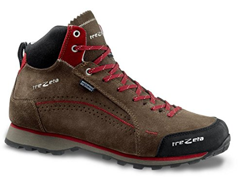 Trezeta Shoes Flow WP MID Walnut de Deep Red Walnut-deep-red