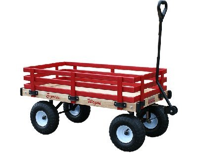Millside Industries Express Wood Wagon, 16 x 36'' by Millside Industries (Image #1)