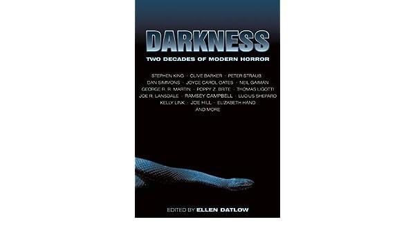 Darkness: Two Decades of Modern Horror: Amazon.es: Ellen ...