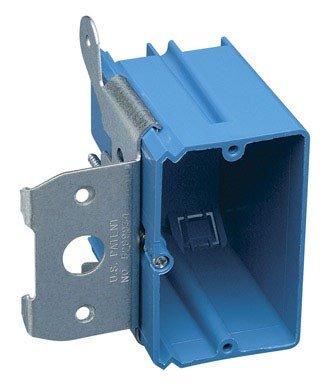 Carlon Lamson & Sessons B121ADJ Single Gang Adjust-A-Box Work Box by Thomas & Betts