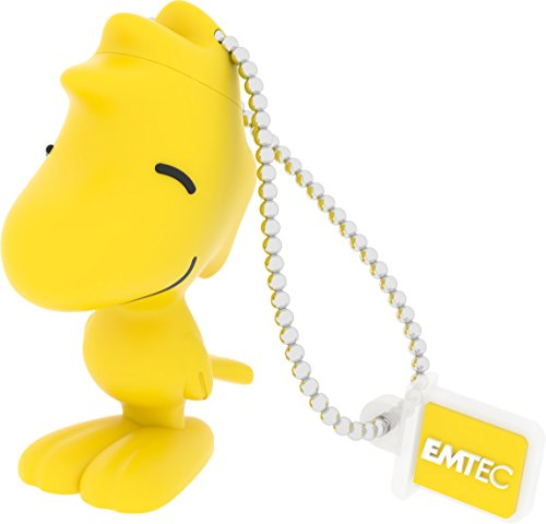 EMTEC 3D Woodstock 8GB USB 2.0 Type A Flash Drive Yellow ECMMD8GPN103