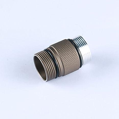 Amazon.com: Aleación de aluminio 18350 Cuerpo tubo para Convoy S2 + Arena linterna LED Lámparas portátiles Accesorios: Home & Kitchen