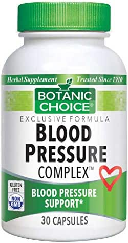 Botanic Choice Blood Pressure Complex, 30 Count