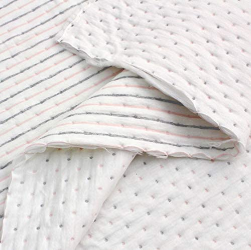 Tela de punto de algodón orgánico acolchado por The Yard 150 cm de ...