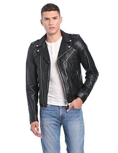 giacca in pelle uomo lc1140